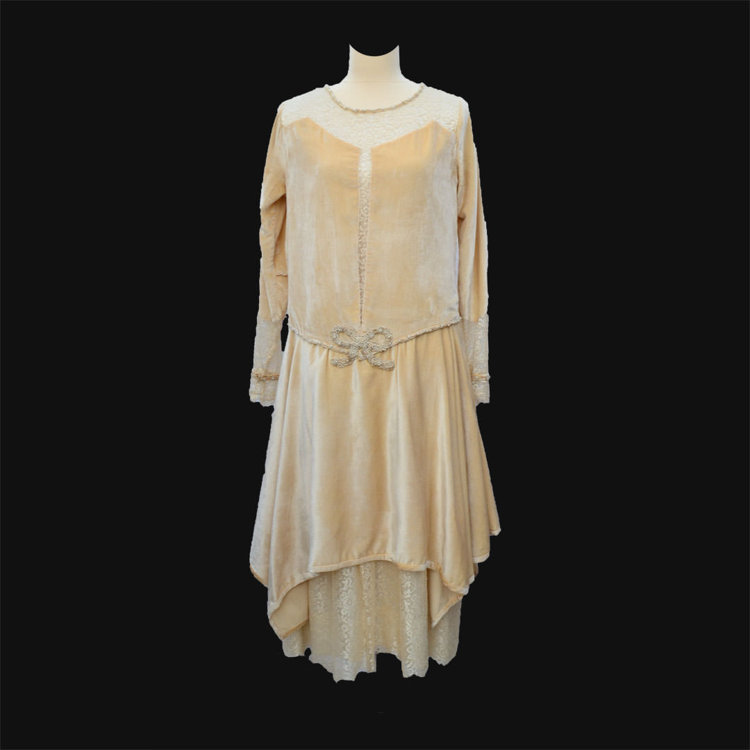 ... Velvet and Lace Dress | Vintage Dresses and Accessories: Real