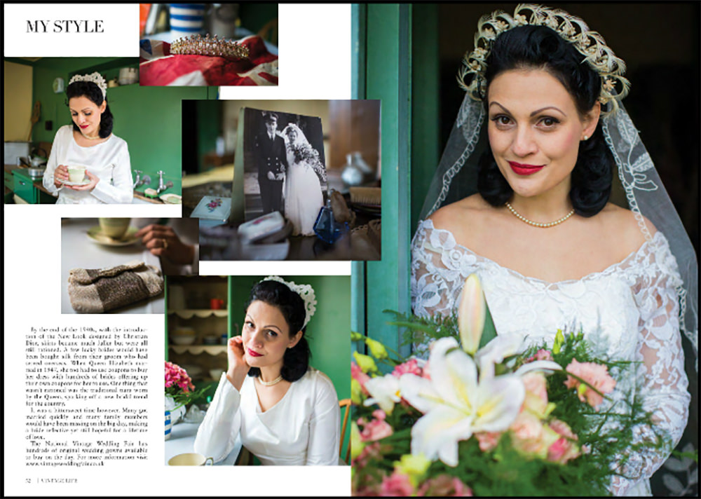 Vintage And Ethical Wedding And Evening