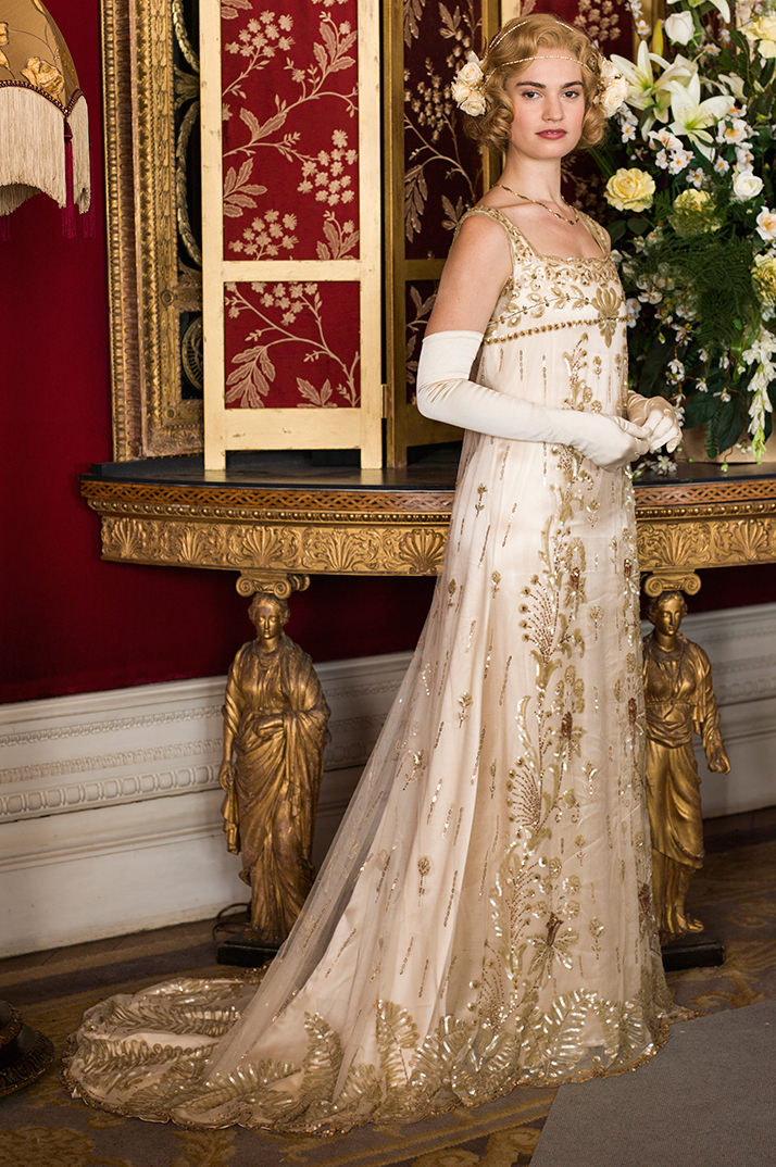 Downton abbey dresses vintage and ethical wedding and for Downton abbey style wedding dress
