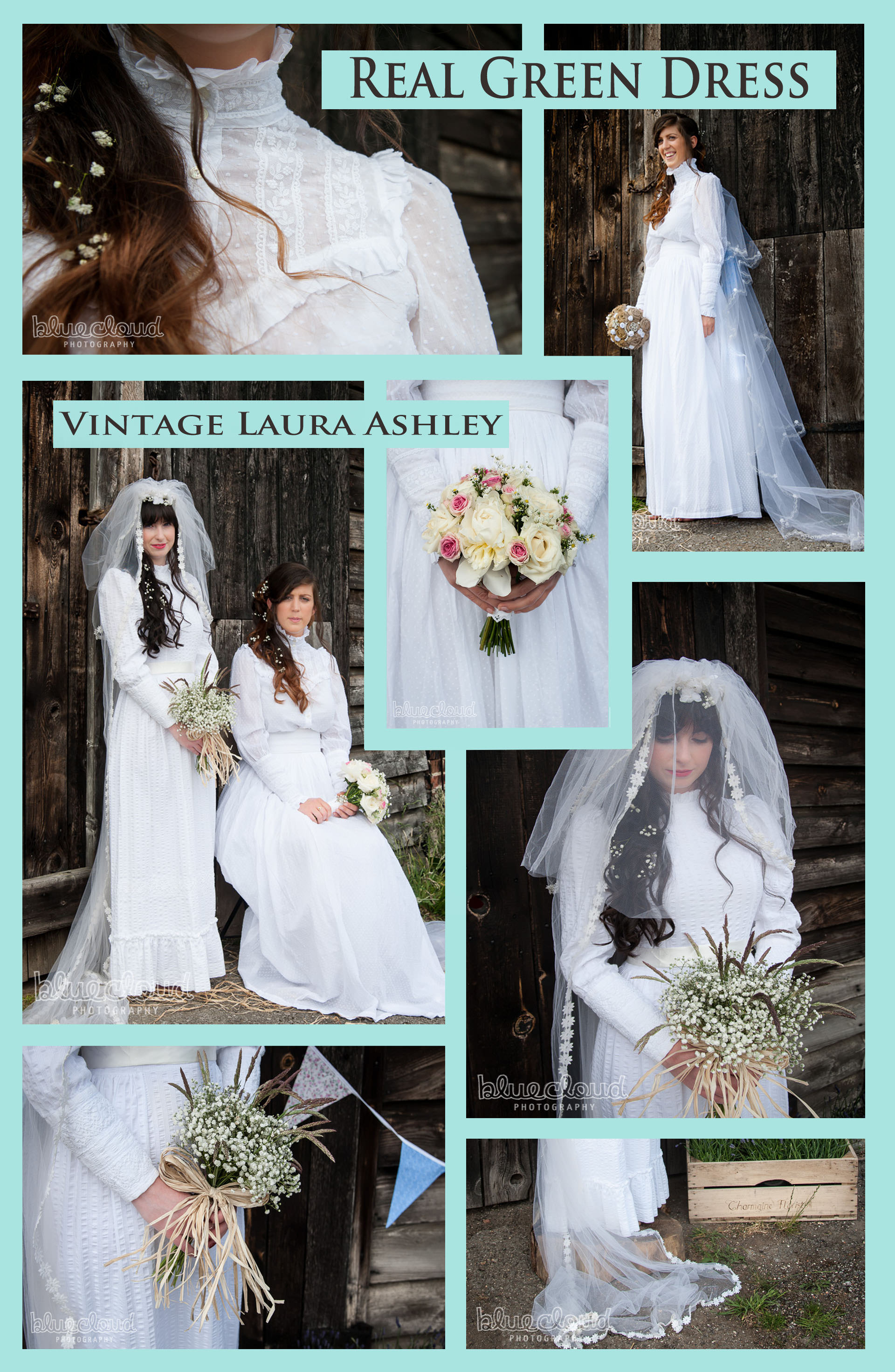 Vintage Laura Ashley Wedding Dresses X 2! | Vintage and Ethical ...